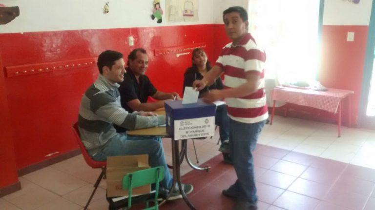 Elección de autoridades vecinales en Barrio Parque San Juan y Don Bosco