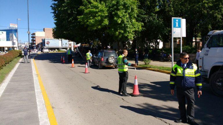 Continúan los operativos de control de tránsito vehicular