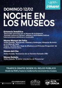 NOCHE EN LOS MUSEOS 12-02 de feb-01