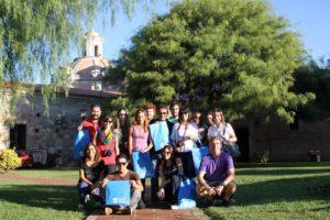 periodistas paraguayos en la estancia jesuitica