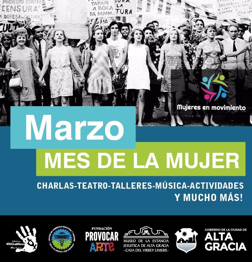 Mujeres En Movimiento Grilla De Actividades Por El Día