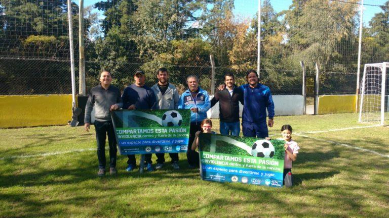 El Club Anglo Viejo se suma a la campaña #SinViolencia en el Fútbol