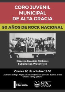 50 AÑOS DE ROCK NACIONAL