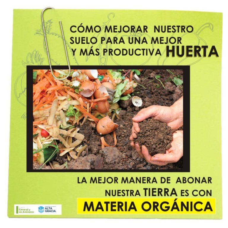 ¿Cómo mejorar nuestro suelo?