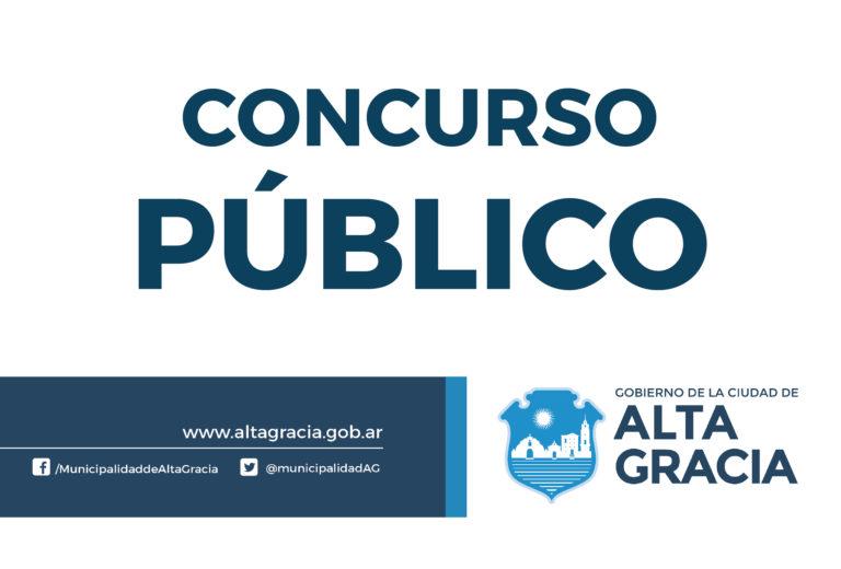 CONCURSO PÚBLICO 01/18 – Decreto N° 634/18