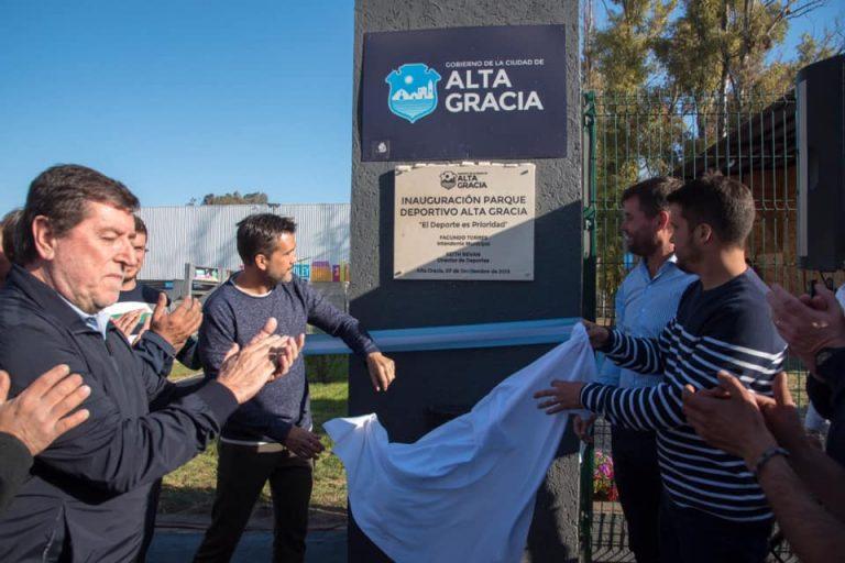 Se inauguró la 3º etapa del Parque Deportivo Urbano