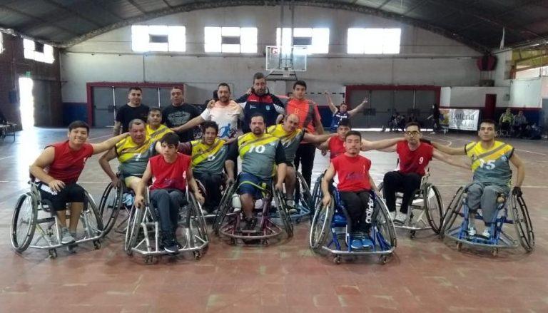 Se disputó una nueva fecha del Torneo de Básquet en Silla de Ruedas