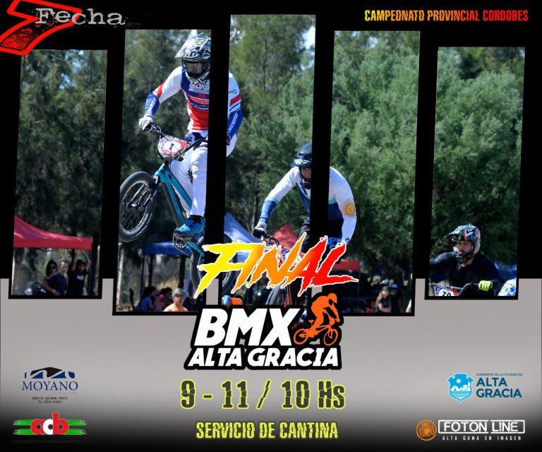BMX: el campeonato provincial se define en Alta Gracia