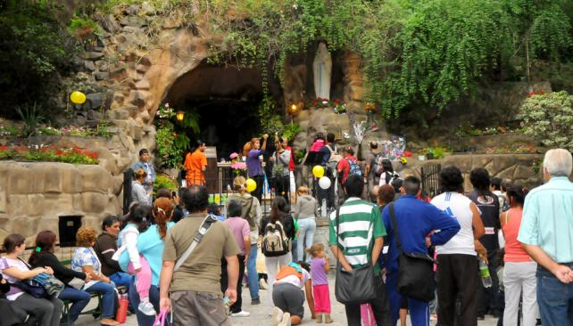 Vecinos afectados por peregrinación a La Gruta deberán gestionar libre tránsito