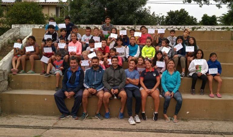 Cierre de actividades de las escuelas de verano municipales