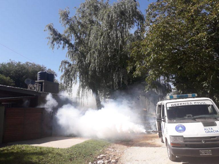 Continúan las fumigaciones contra el Dengue
