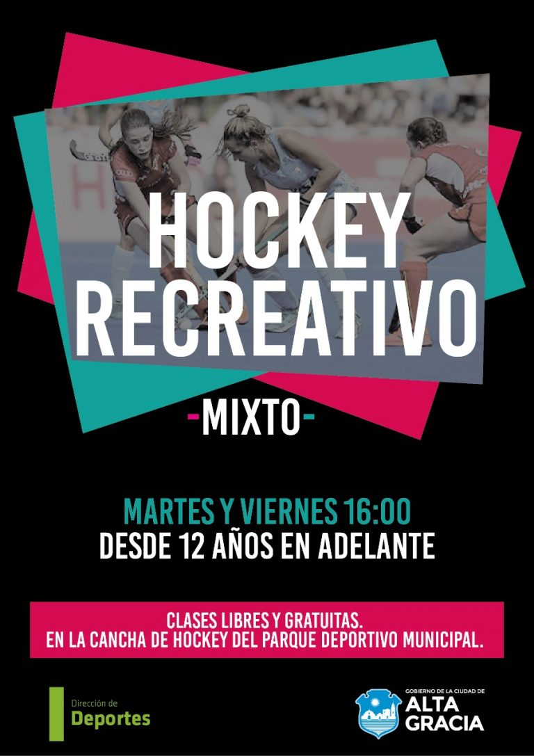 Hockey recreativo Mixto en el Parque Deportivo