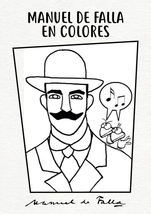 Manuel de Falla en Colores
