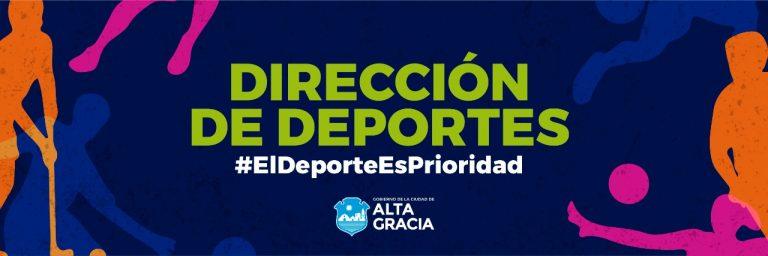 Rutinas deportivas en la web del Gobierno de la Ciudad de Alta Gracia