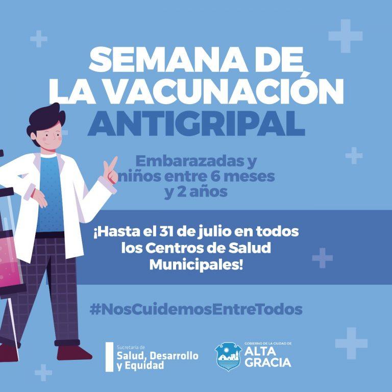 Se extiende la semana de la vacunación hasta el 31 de julio en todos los Centros de Salud Municipales