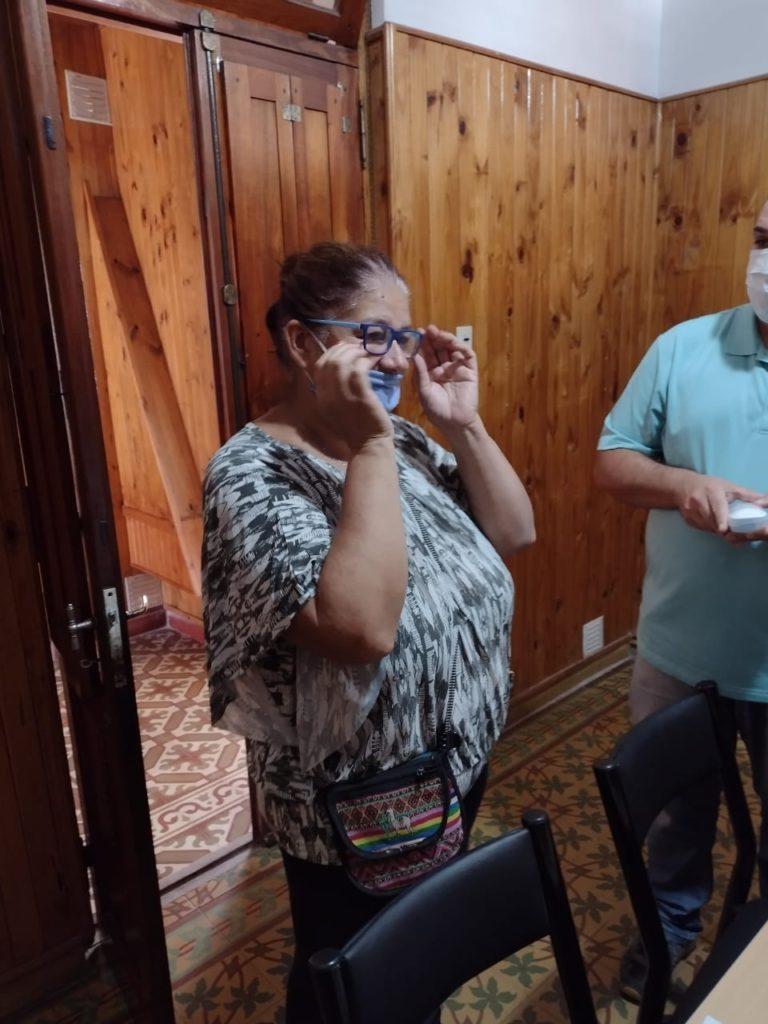 Se entregaron 15 lentes a vecinos de nuestra ciudad