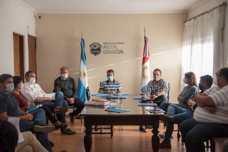 El Intendente presidió la Mesa de Seguimiento Sanitario