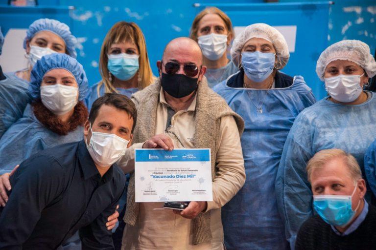 Covid-19: 10.000 vecinos vacunados en Alta Gracia