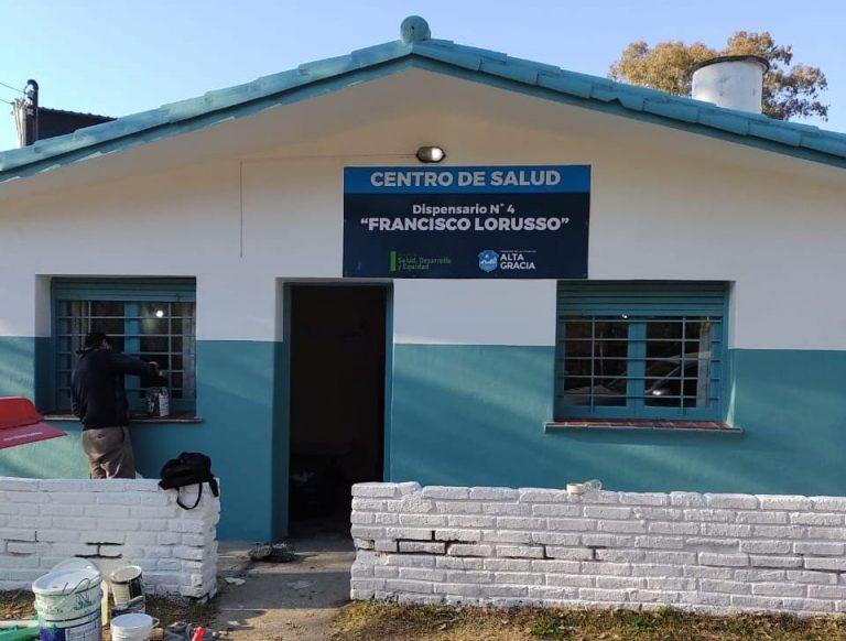 Finalizaron las obras de refacción del Dispensario de Bº Santa Teresa de Jesús (La Gruta)