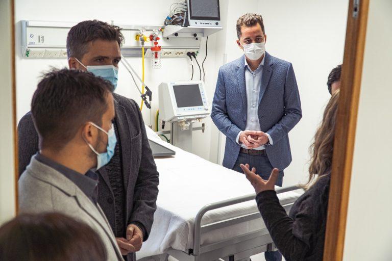 Nueva terapia intensiva del Hospital Arturo U. Illia