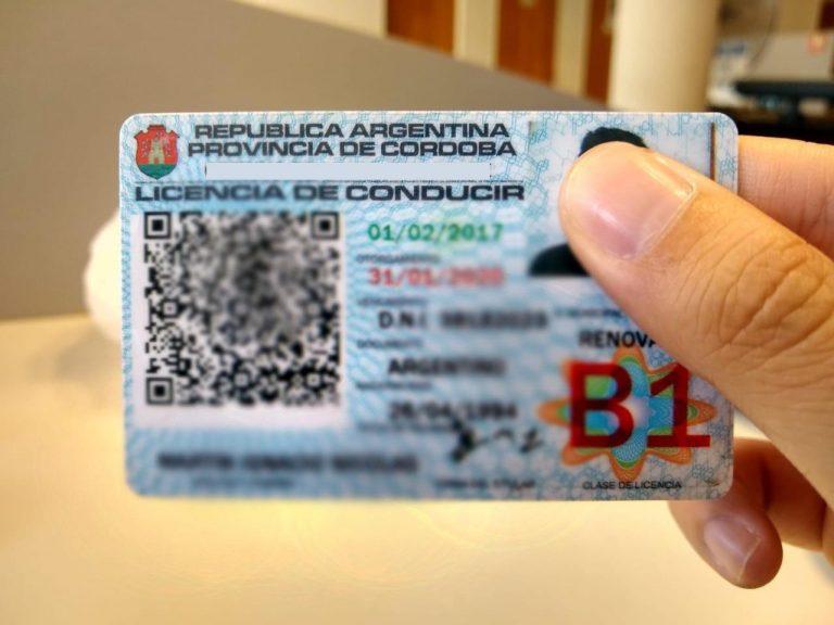 Control de Licencia de Conductor