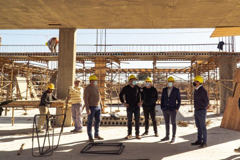 Avanzan las obras de construcción de la Escuela ProA en nuestra ciudad