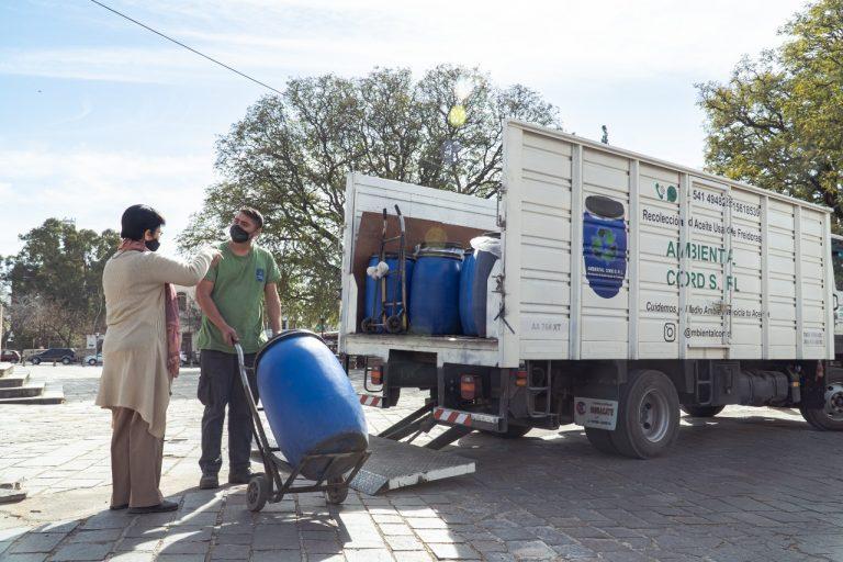 Alta Gracia se suma al reciclado del aceite de freír usado