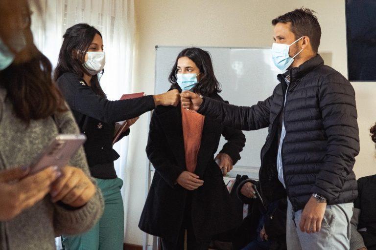 El intendente recibió al personal de seguimiento epidemiológico y atención al covid-19