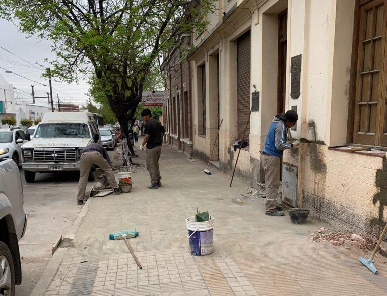 Obras de refacción de las Salas Cunas de nuestra ciudad